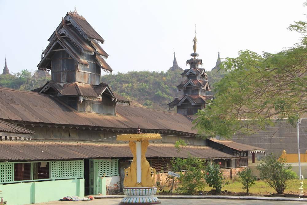 Буддистский храм в Мьянме