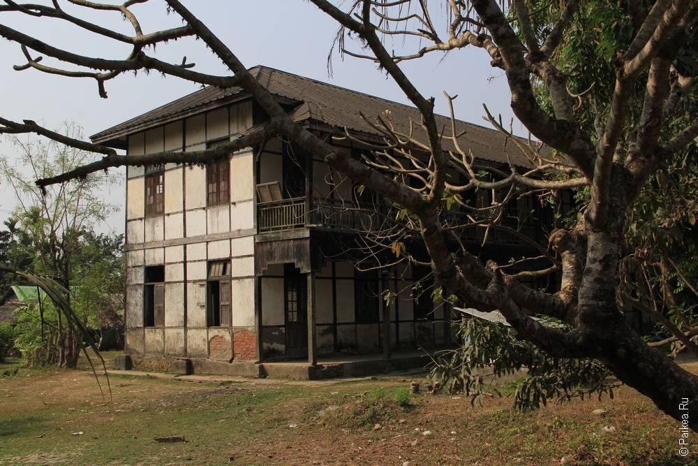 Школа в Мьянме