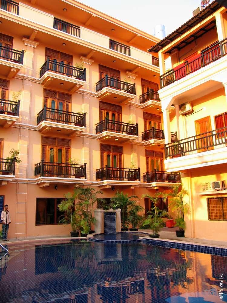 Хороший отель в Камбодже