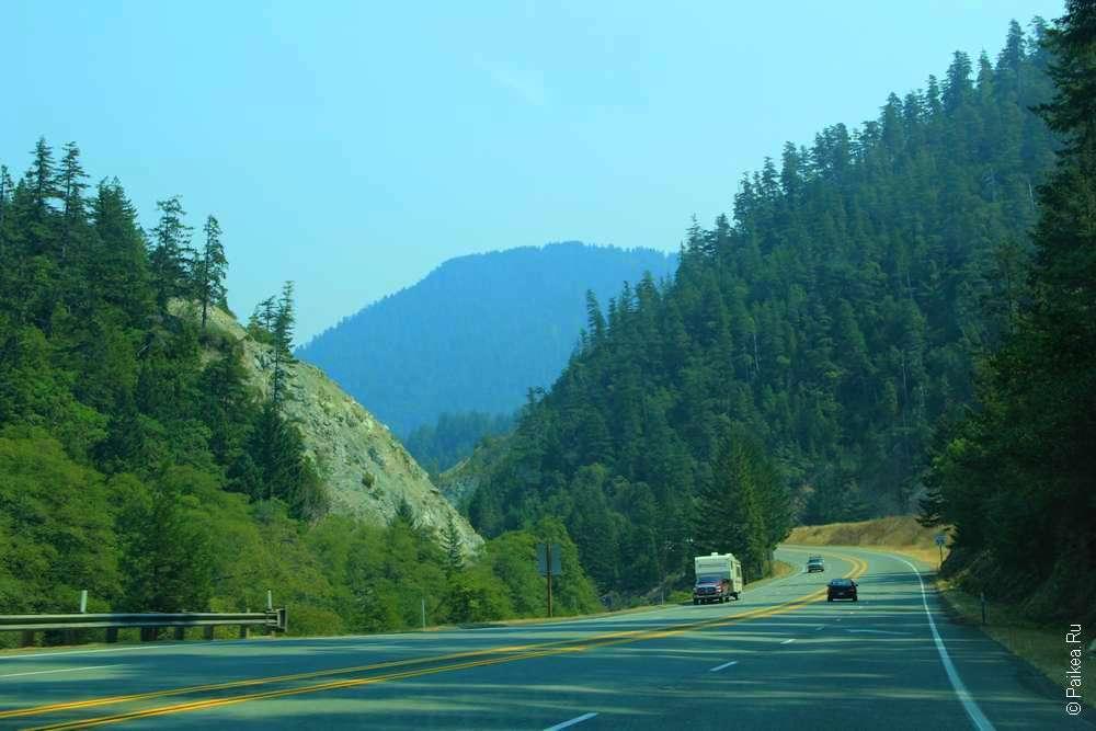 Путешествие на автомобиле в США