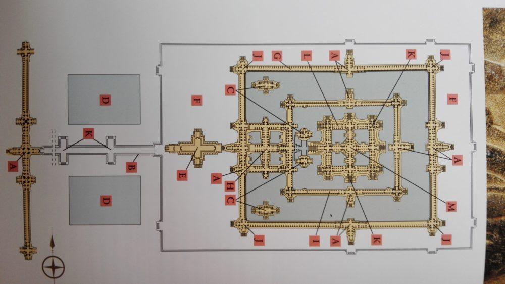 Схема храма Ангкор Ват