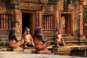 Храм Бантей Срей, Ангкор, Камбоджа