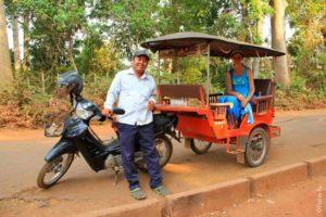 Тук-тук в Камбодже