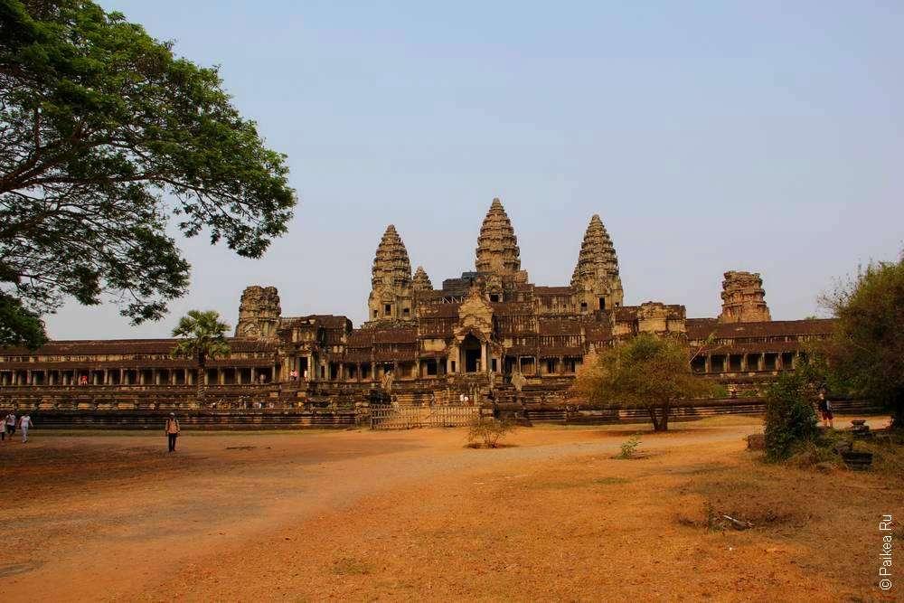 фотография Ангкор Ват - восточный вход