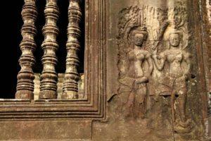 Апсары в Ангкор Вате