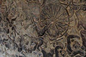 Сцены войн в Ангкоре