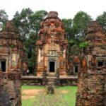 Три прасата кхмерского храма