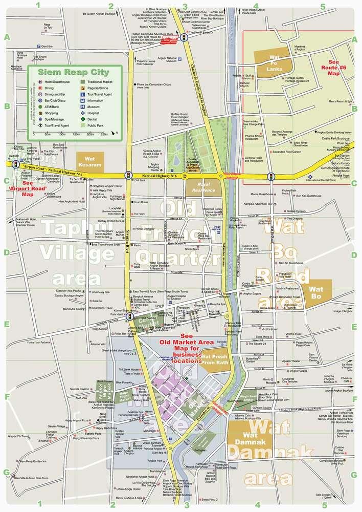 Карта Сием Рип