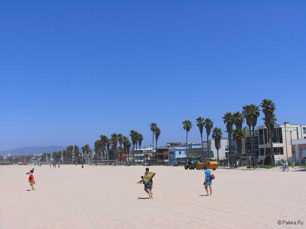 пляж венис