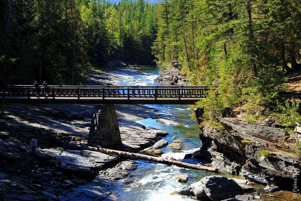 Мост через ручей Макдональд