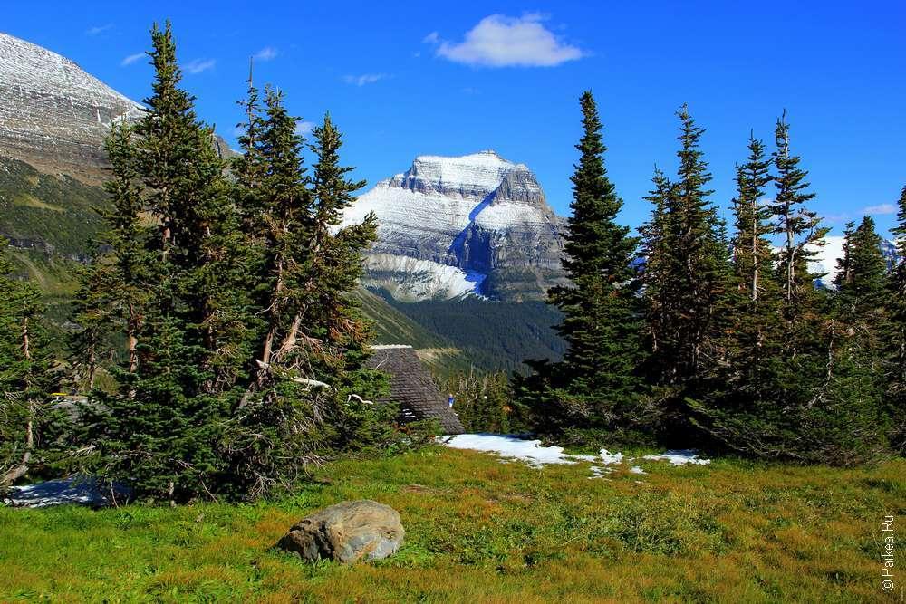 Горы штата Монтана