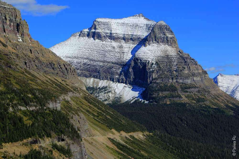 Горы в штате Монтана