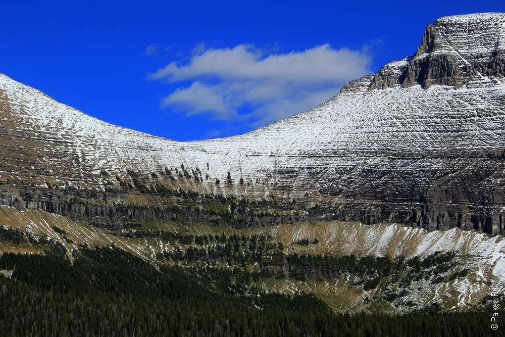 Ледники в Скалистых горах