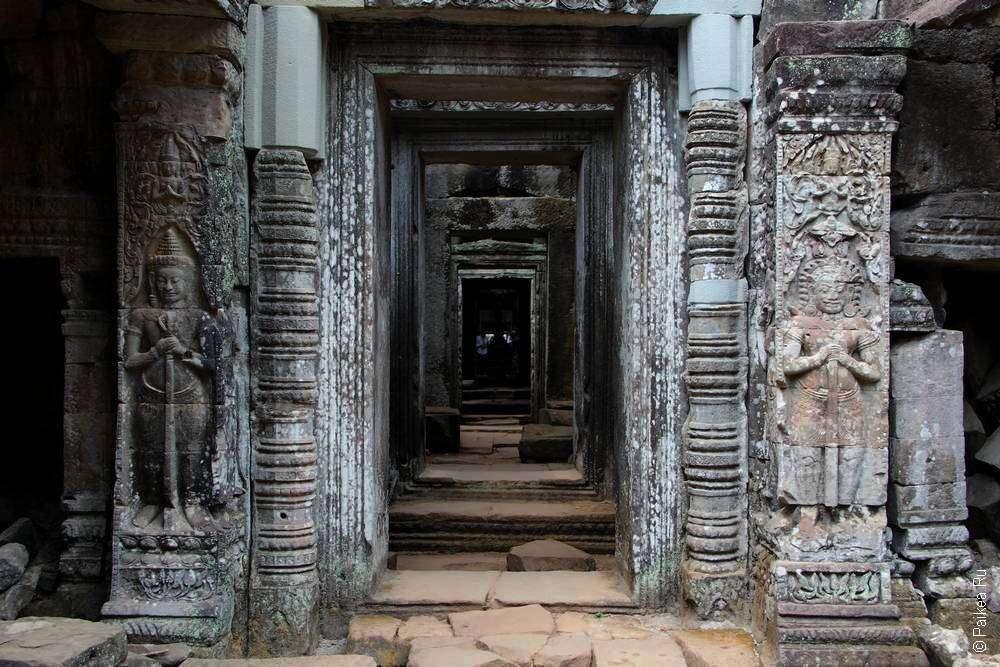 Мрачные коридоры Преа Кхана