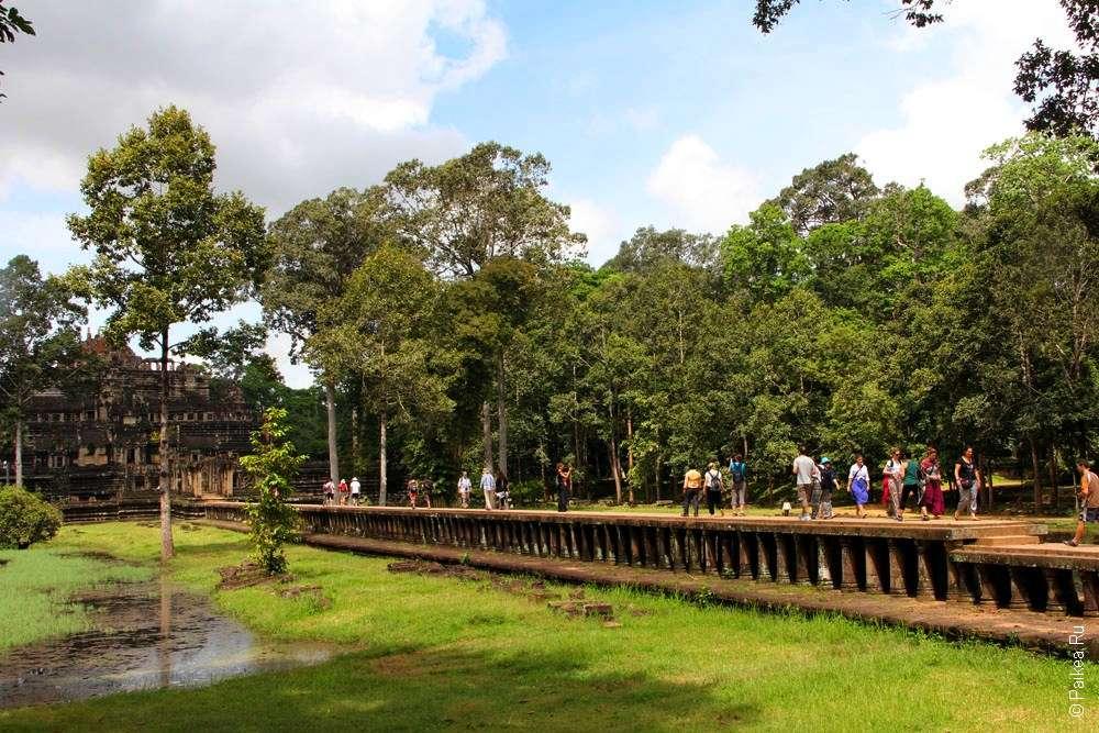 Королевский дворец Ангкор Тхом