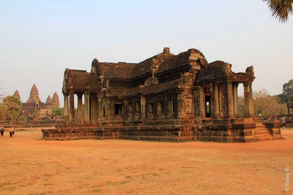ангкор ват камбоджа история