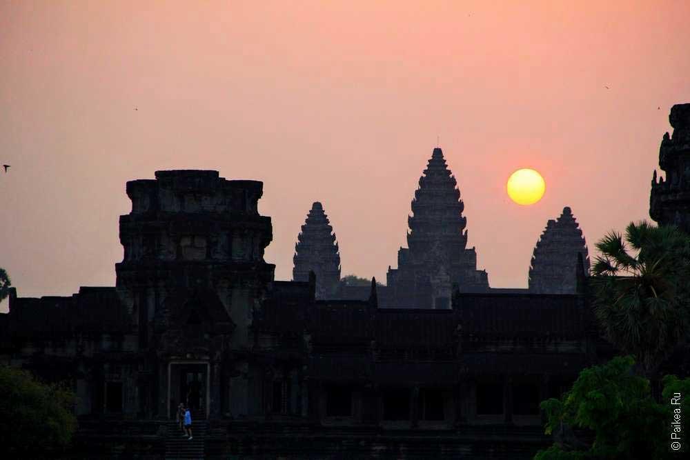 Ангкор Ват рассвет