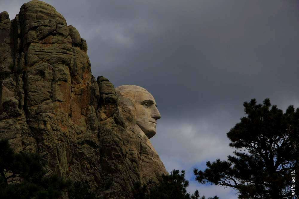 Джордж Вашингтон на горе Рашмор