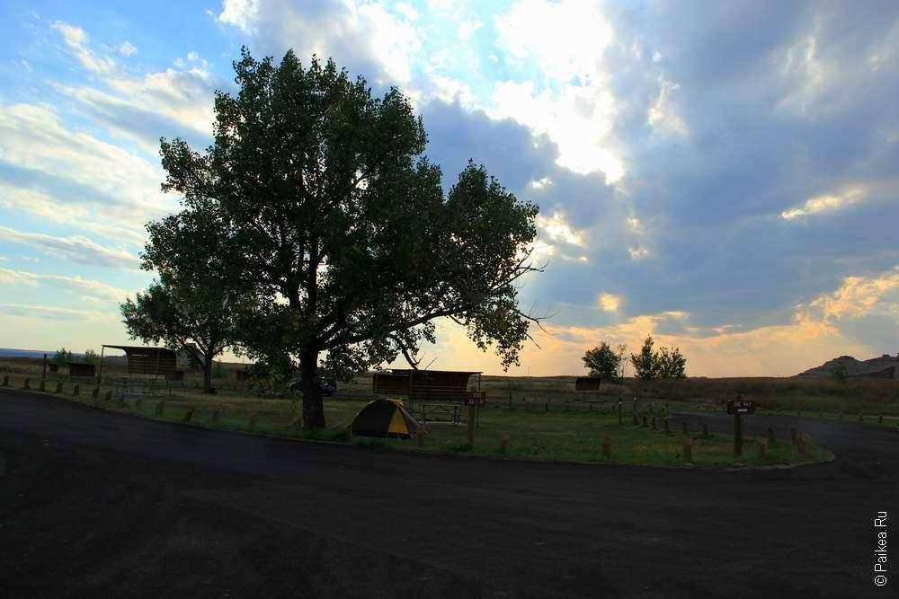 кемпинг Cedar pass