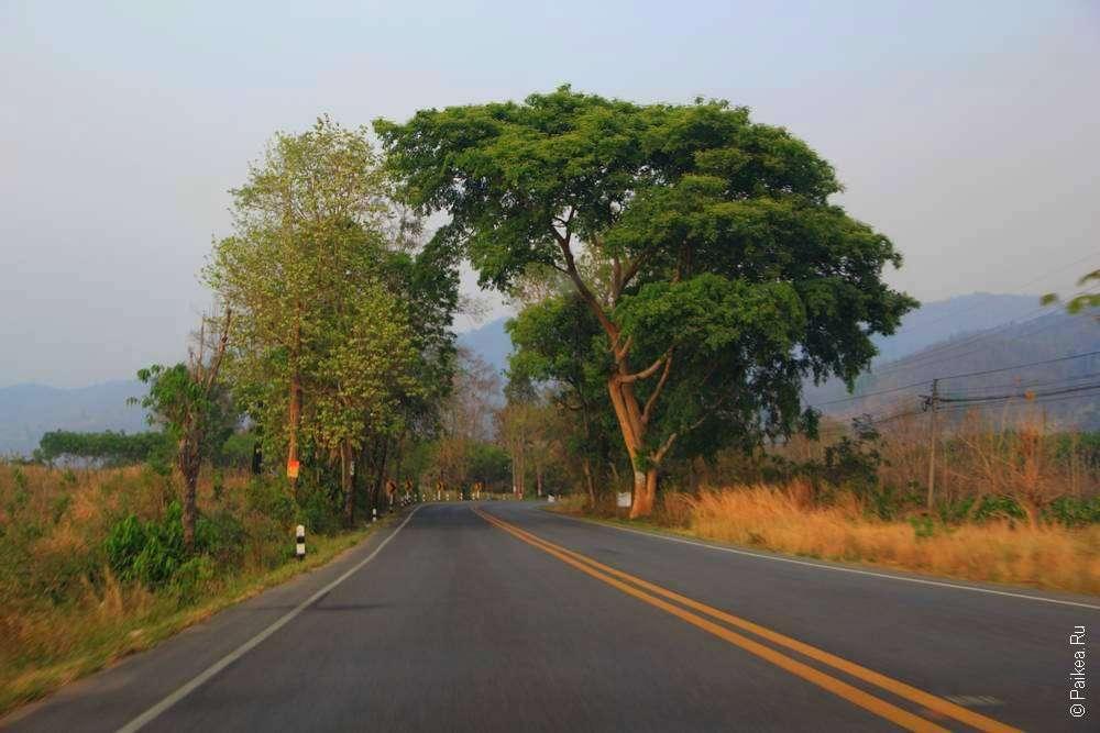 Дорога в тайской провинции