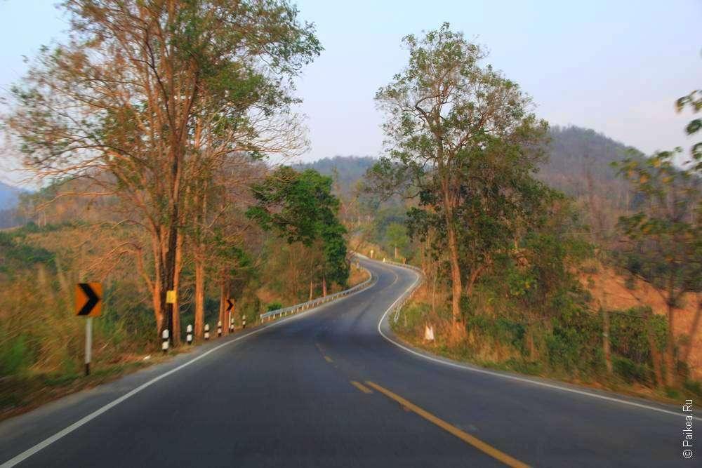 Дорога в Таиланде