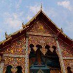 Крыша храма в Таиланде