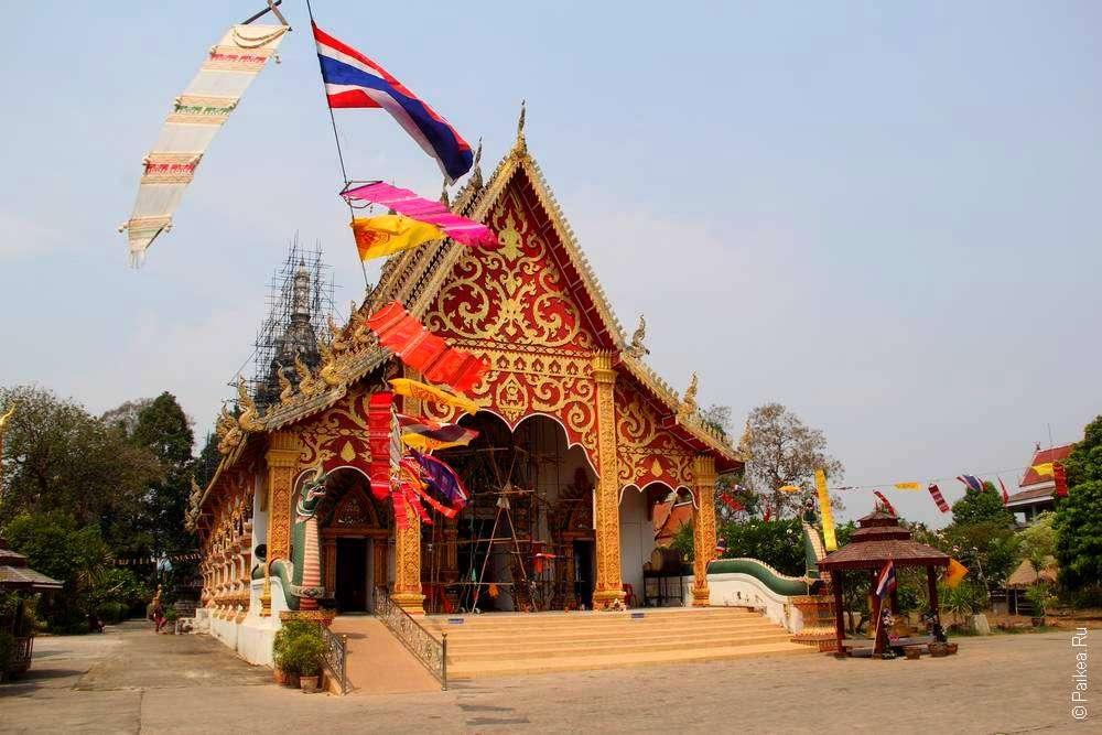 Храм в городе Нан Таиланд
