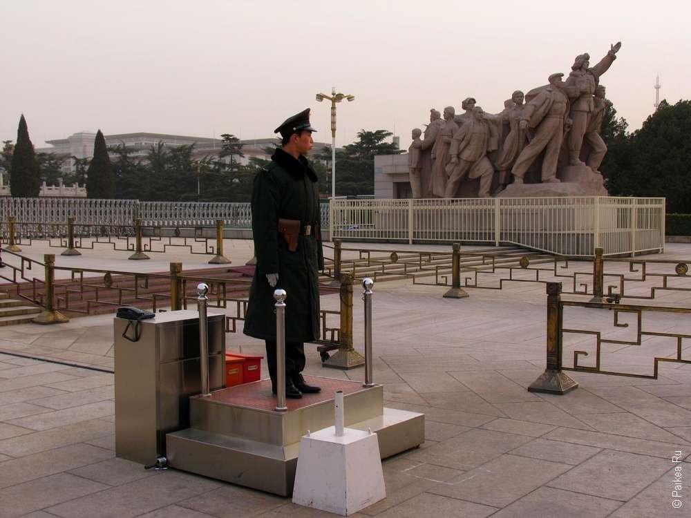 Площадь Тяньаньмэнь, Пекин достопримечательности