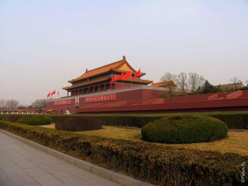 Врата небесного спокойствия, Пекин достопримечательности