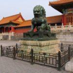 Статуя в запретном городе
