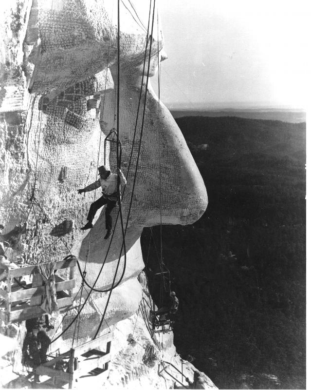 скульптура на горе рашмор