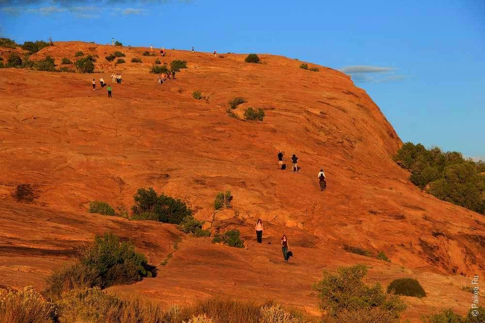 Гора из песчаника в штате Юта
