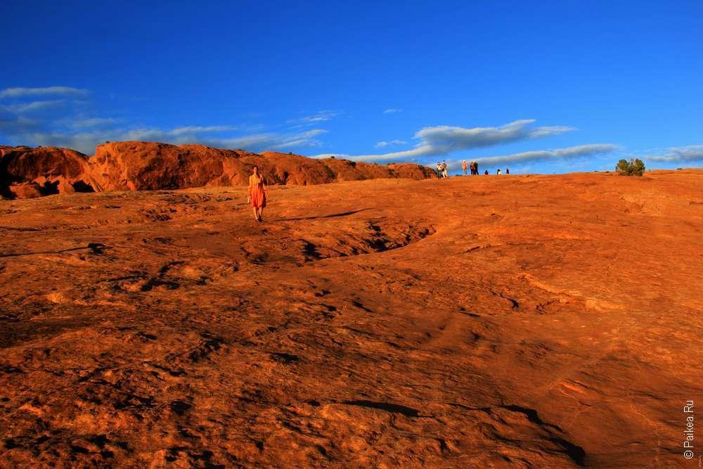 Скалистая тропа к Изящной арке