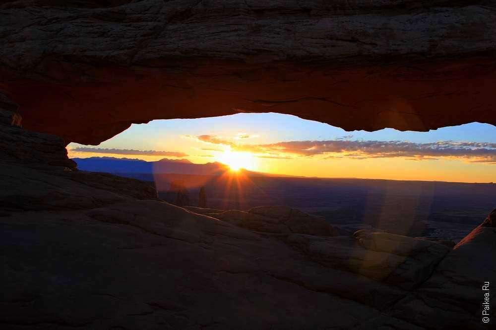 Рассвет у каньона