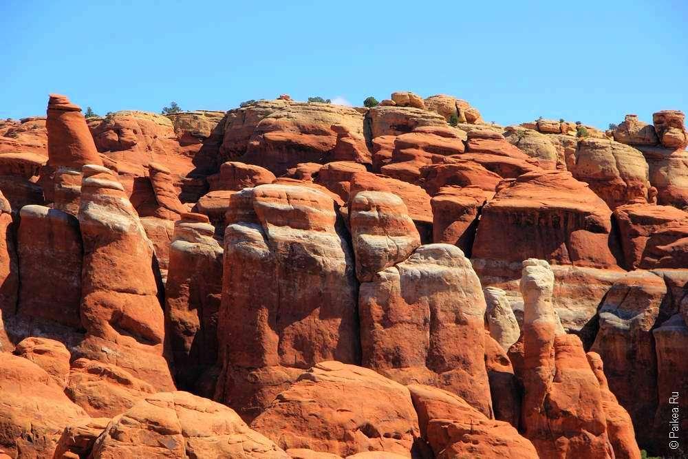Геологические образования в США