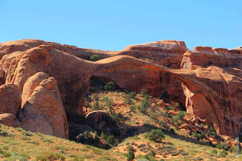 Ландшафтная арка в штате Юта США