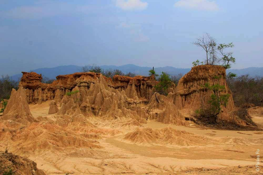 Удивительный пейзаж Северного Таиланда