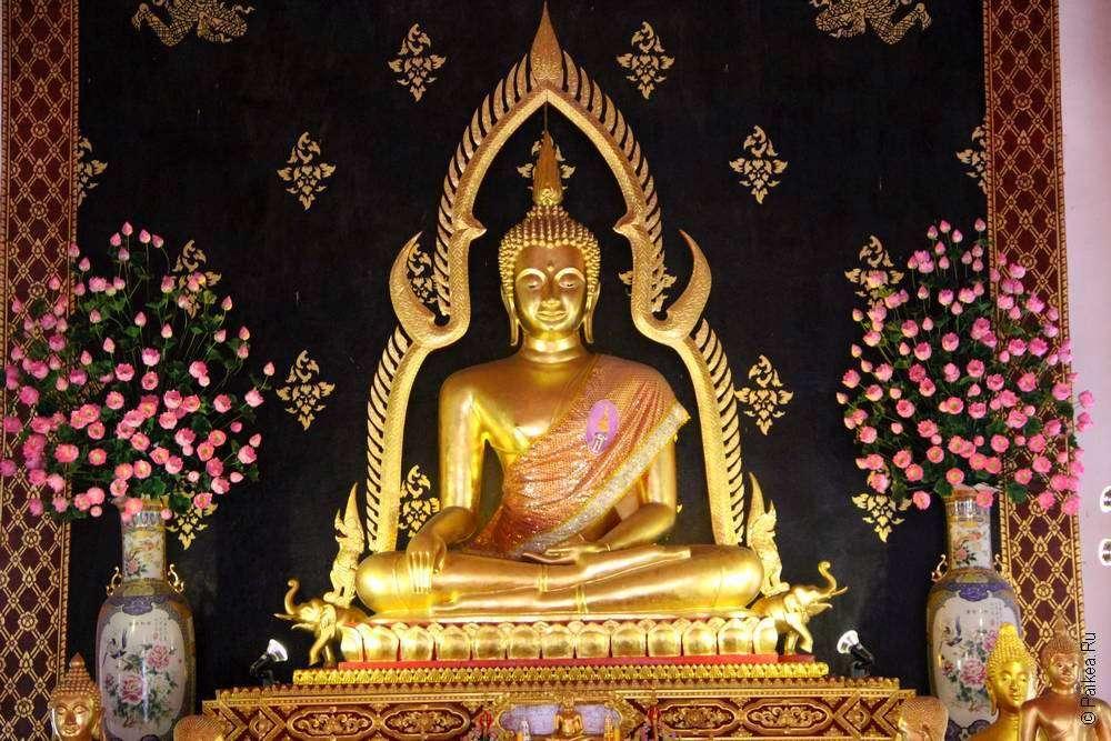 Позолоченный Будда