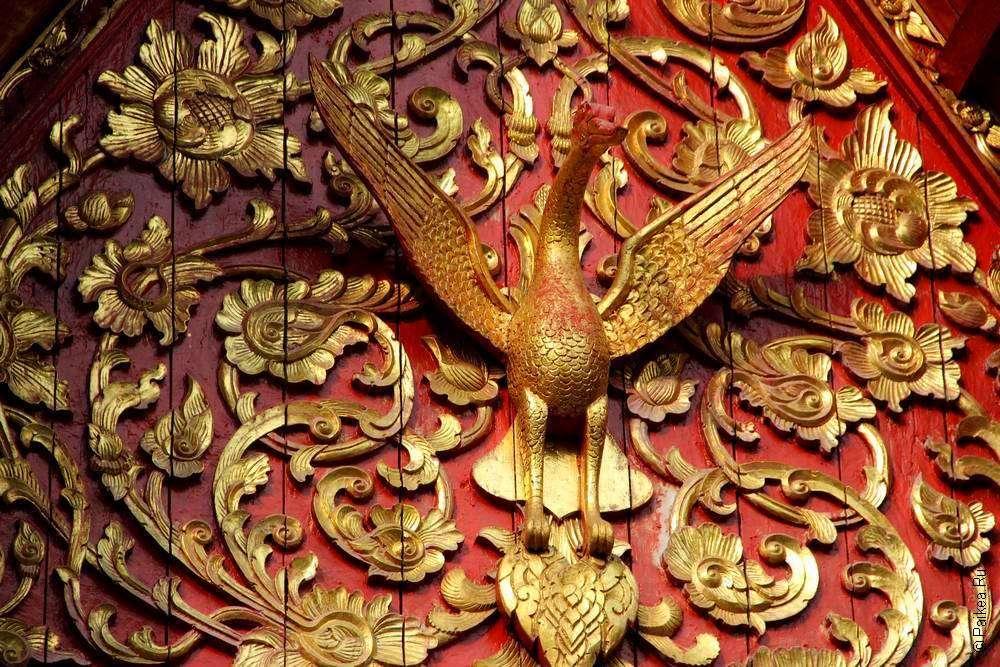 Орнаменты в тайской архитектуре