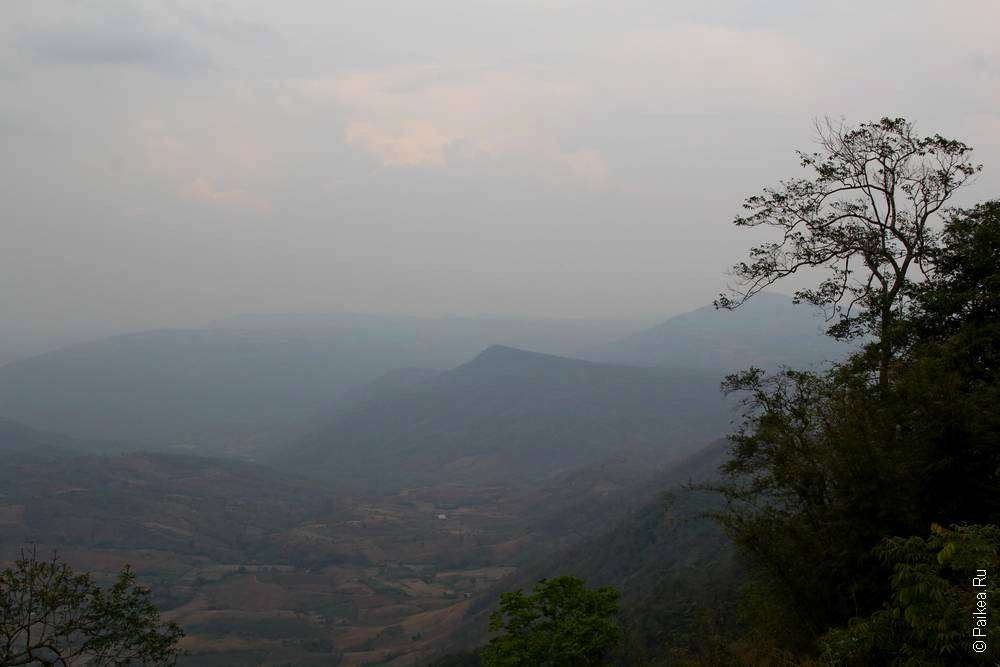 Холмы восточного Таиланда