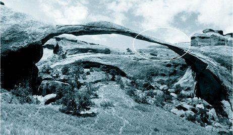 Ландшафтная арка в 50-х годах