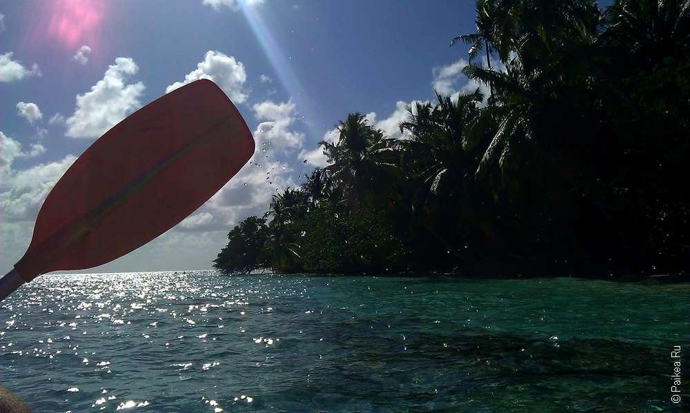 Серфинг на Мальдивах на недорогом острове