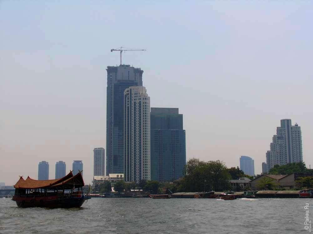 Река Чао Прая, Бангкок достопримечательности