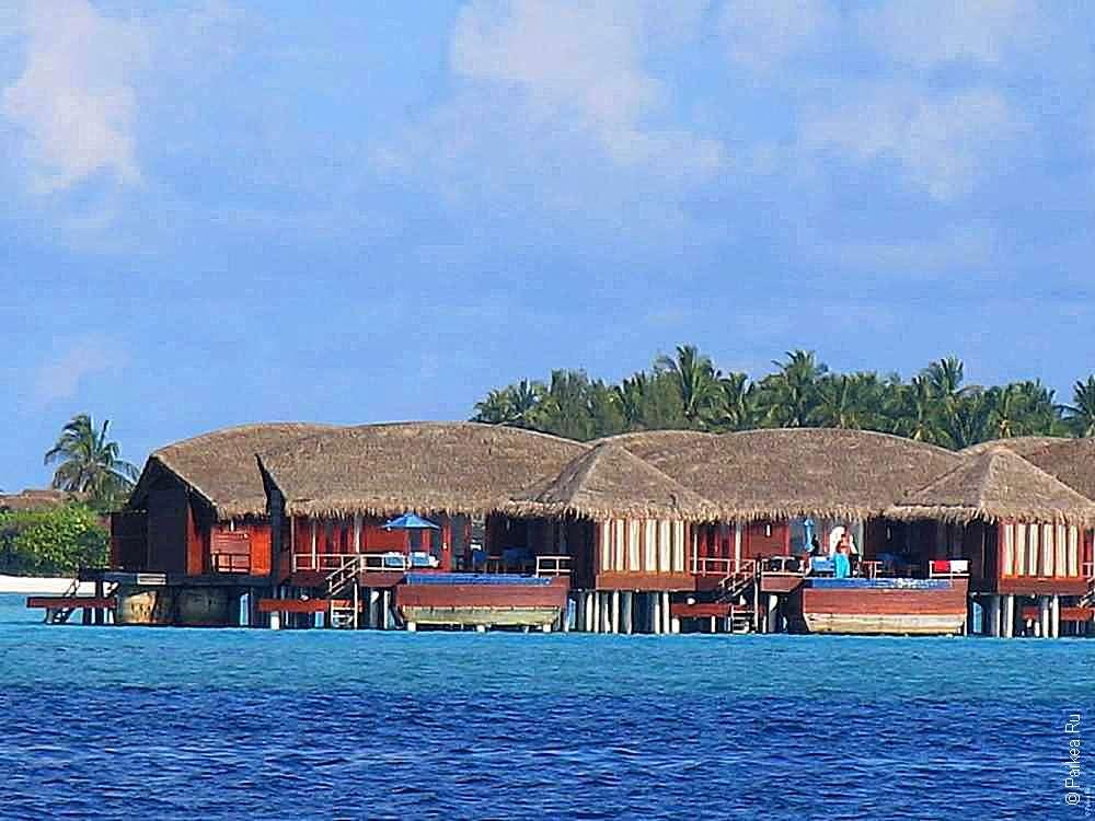 Просторные бунгало на Мальдивах