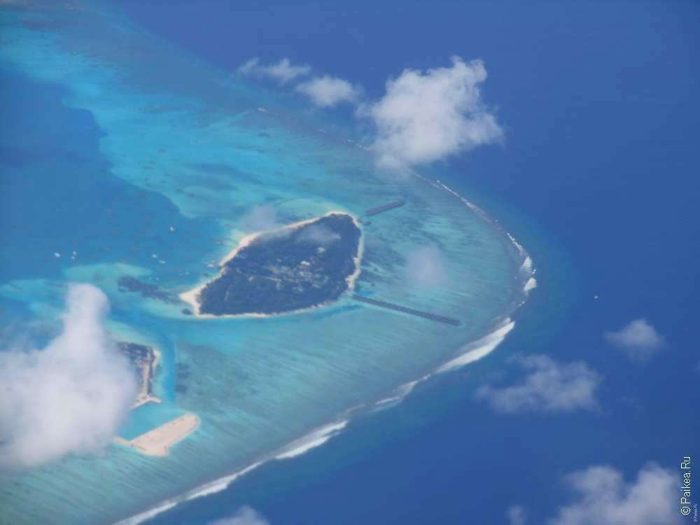 Перелет на Мальдивы