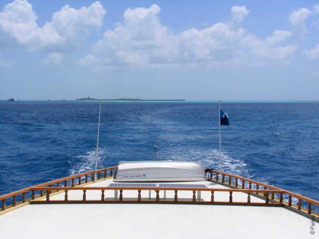 Мальдивы паром из Мале на Фулиду