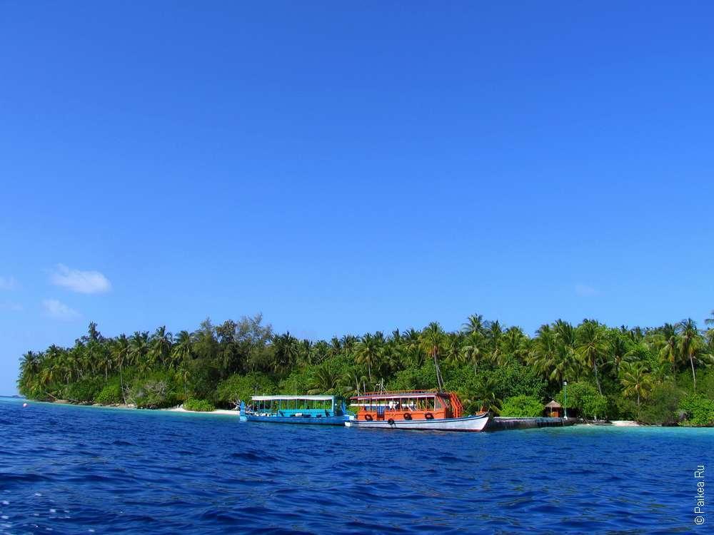Остров Укулхас на Мальдивах