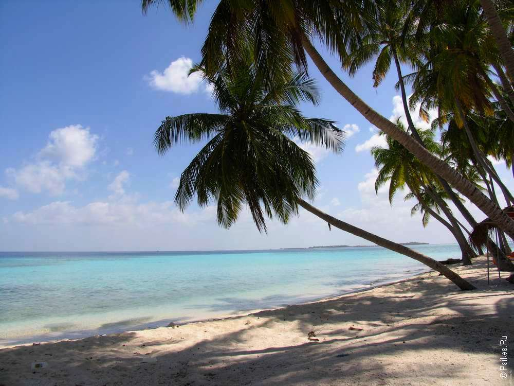 Осров Мафуь - пляж на Лаккадивском море