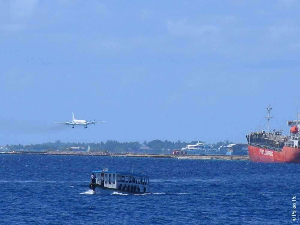 Мале - город на Мальдивах