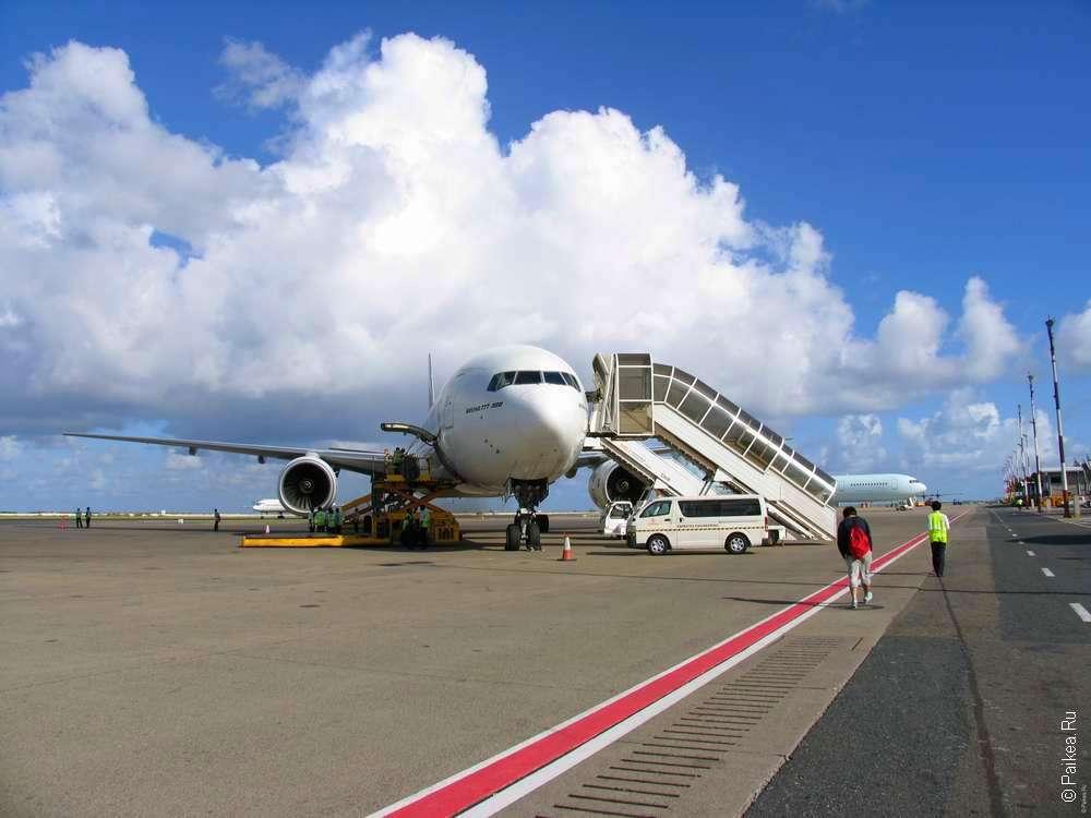 Перелет в путешествие на Мальдивы